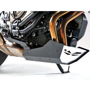 Paramotore per Yamaha MT-07 coppa olio grigio/nero