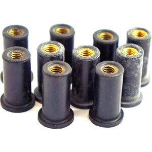 Dado elastico per carenature M6x25mm set 10pz