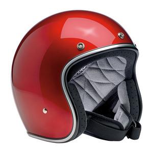 Casco moto aperto Biltwell Bonanza rosso candy
