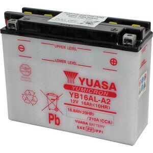 Batteria di accensione Yuasa YB16AL-A2 12V-16Ah