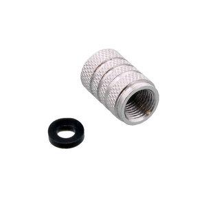 Tappo valvole pneumatici Pro Bolt alluminio grigio