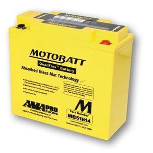 Battery BMW R 45 sealed Motobatt 12V-22Ah