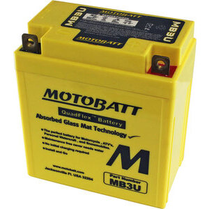 Batteria di accensione MotoBatt MB3U 12V-3.8Ah