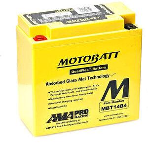 Batteria di accensione MotoBatt MBT14B4 12V-13Ah