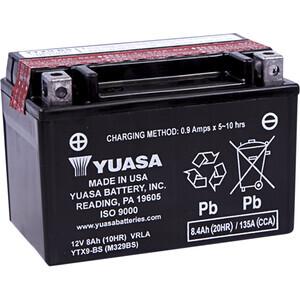 Batteria di accensione Yuasa YTX9-BS 12V-8Ah