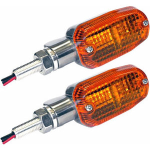 Halogen winkers K&S Oval position light combo polish pair