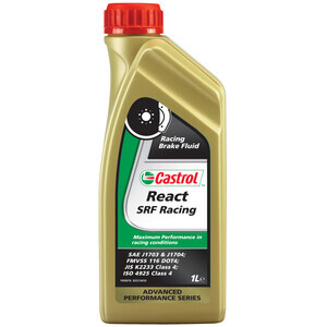 Olio freni e frizione Castrol React SRF Racing 1lt