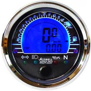 Electronic multifunction gauge AceWell MD52
