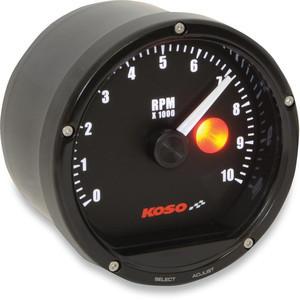 Electronic tachometer Koso Classic 10K dial black