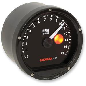 Electronic tachometer Koso Classic 15K dial black