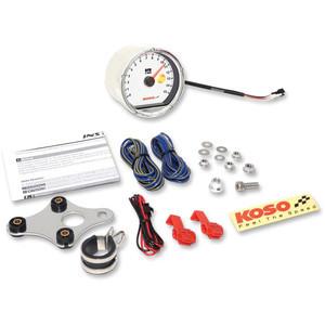 Electronic tachometer Koso Classic 15K dial white