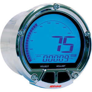Electronic speedometer Koso Modern chrome