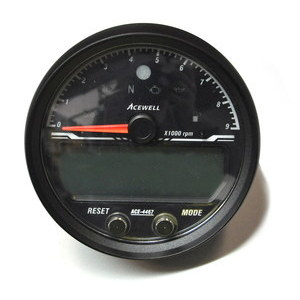 Electronic multifunction gauge AceWell Sport 4467 9K black