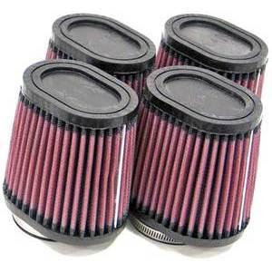 Kit filtri aria per Yamaha FJ 1100 K&N cilindrico ovale