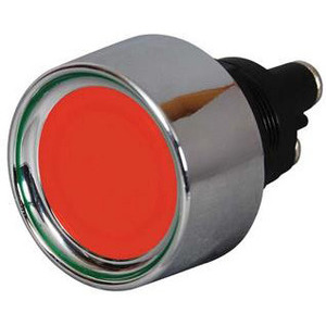 Interruttore a vite on-off 34mm illuminato rosso