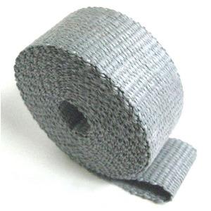 Benda termica collettori di scarico 640° grigio 50mm 5mt