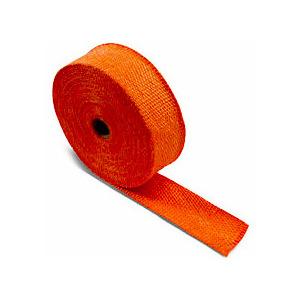 Benda termica collettori di scarico 416° arancione 50mm 5mt