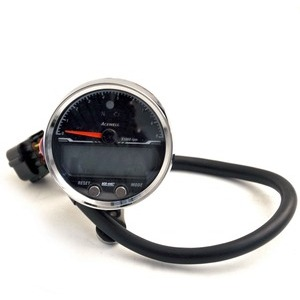 Electronic multifunction gauge AceWell Sport 4467 9K chrome