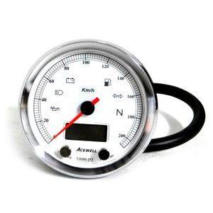 Electronic multifunction gauge AceWell Classic 213-AC 200Km/h