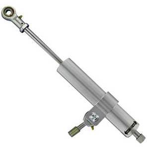 grey Steering damper Shindy 90mm