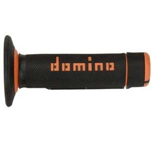 Coppia manopole Tommaselli Off Road A020 nero/arancione