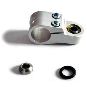 Attacco ammortizzatore di sterzo 22mm snodo sferico femmina LSL corto