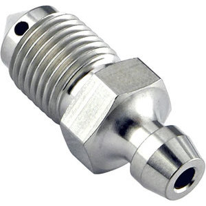Brake caliper bleeder M10x1.25 length 27mm stainless steel