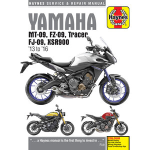 Manuale di officina per Yamaha MT-09 -'16