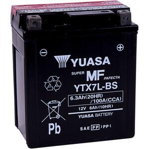 Batteria di accensione Yuasa YTX7L-BS 12V-6Ah