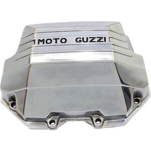 Cylinder head cover Moto Guzzi Serie Grossa cylinders squared polish right