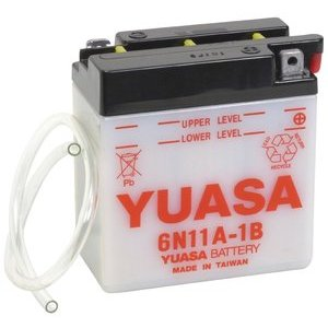 Battery Laverda 125 LZ standard Yuasa 6V-11Ah