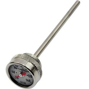 Engine oil thermometer Moto Guzzi Serie Piccola dial white