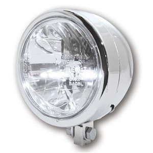 Full led headlight 4.5'' Highsider chrome