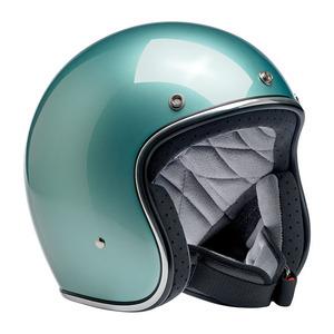 Casco moto aperto Biltwell Bonanza verde