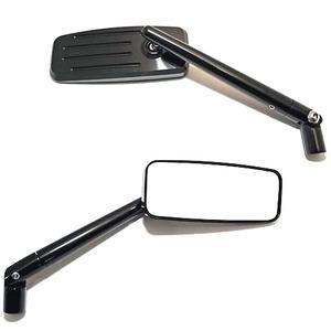 Coppia specchietti retrovisori reversibili Highsider Streetfighter nero