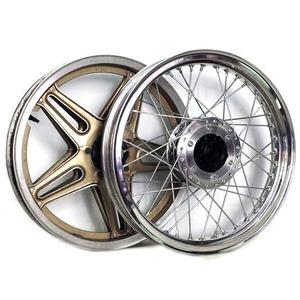 Complete spoke wheel kit Honda CB 750 F Bol D'Or 18''x2.15 - 18''x2.50 CNC