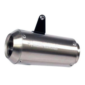 Exhaust muffler Spark GP SS 60mm stainless steel right