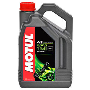Olio motore 4T Motul 10W-40 5000 4lt