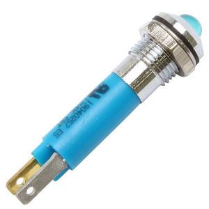 Spia led Modern blu
