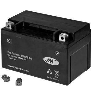 Batteria per Honda NX 650 Dominator gel JMT 12V-9Ah