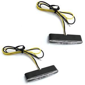 Led winkers Highsider Stripe black matt pair