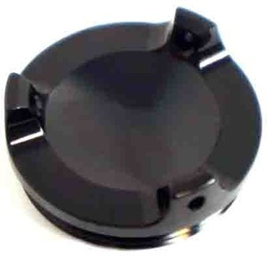 Bullone olio M34x1.5 alluminio nero
