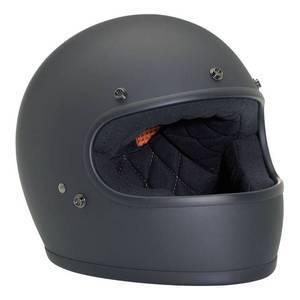 Casco moto integrale Biltwell Gringo nero opaco
