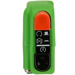 Blocchetto elettrico Tommaselli Modern destro verde