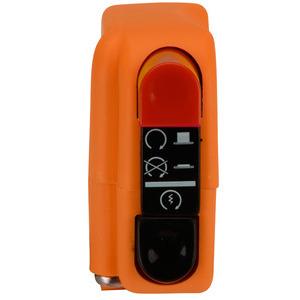Blocchetto elettrico Tommaselli Modern destro arancione