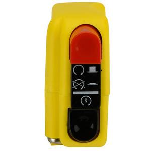 Blocchetto elettrico Tommaselli Modern destro giallo