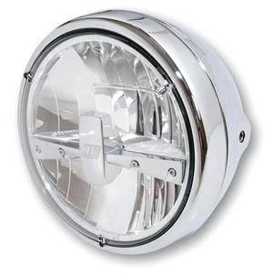 Full led headlight 7'' Highsider Reno Type 3 chrome