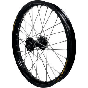 Complete spoke wheel 17''x3.50 rear