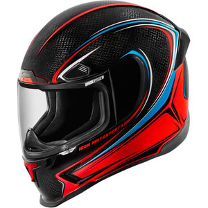Casco Icon AirFrame Pro Carbon nero lucido