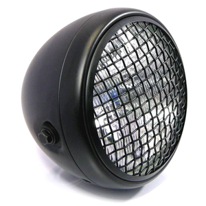 Halogen headlight 6.5'' Scrambler black